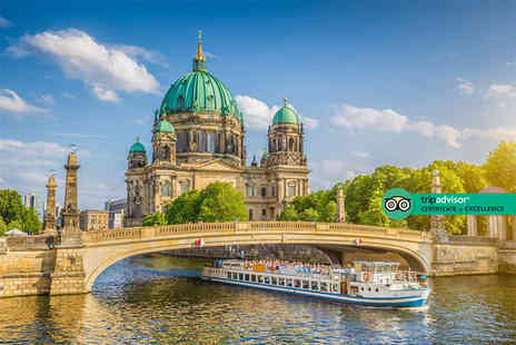 Travel Center - Four Star Escape with a two, three or four nights getaway to Berlin Now with the ability to choose your flight - Save 0%