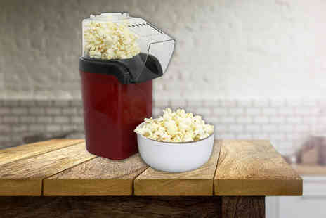 Who Needs Shops - Electric hot air popcorn machine - Save 74%