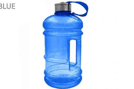 SecretStorz - 2.2L Training Water Bottle Choose from 6 Colours - Save 60%