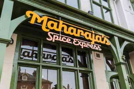 Maharajas Spice Express at The Kings Head - Mixed Grill Platter and Beer for Two or Four - Save 70%