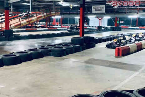 Avago Karting - 30 lap go kart session for one - Save 40%