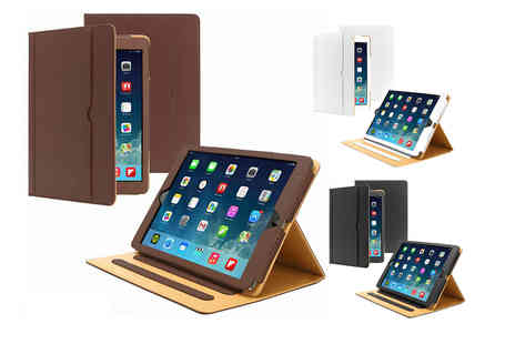 Eshaan - Smart flip magnetic leather iPad case choose your size and colour - Save 0%
