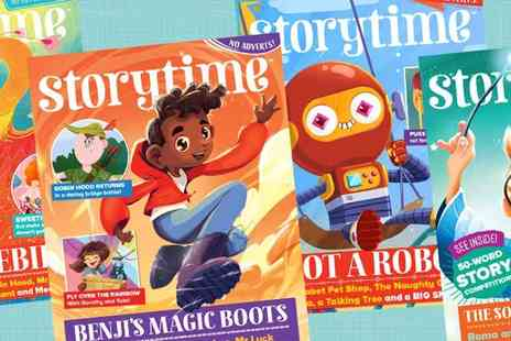Encore Tickets - Storytime Magazine Subscription 6 months of Wonderful Stories - Save 67%