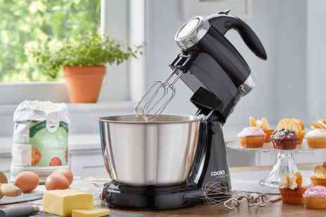 CJ Offers - 2 in 1 hand whisk and stand mixer - Save 60%