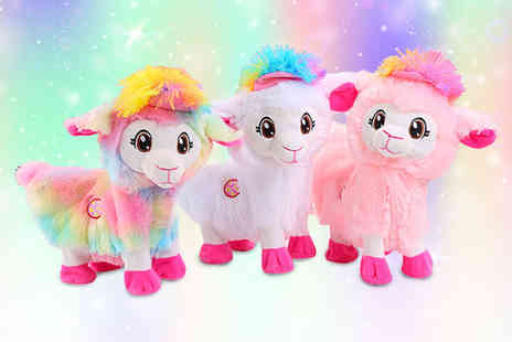 Spezzee - Kids plush alpaca toy choose from three colours - Save 60%