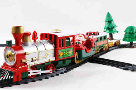 Spezzee - Kids musical Christmas train toy set - Save 58%