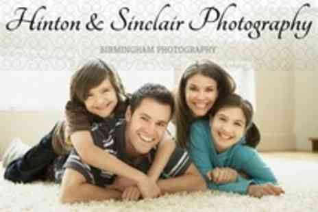 Hinton and Sinclair Photography - Family Photo Shoot For Up To 12 With Prints - Save 90%