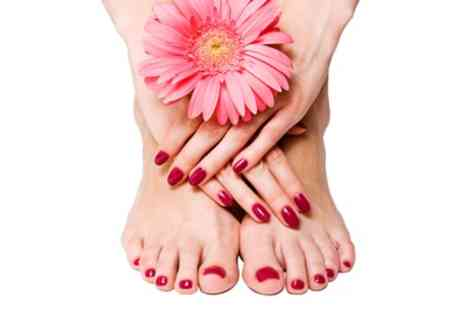 Zen by the sea - Gel Manicure, Pedicure or Both - Save 64%