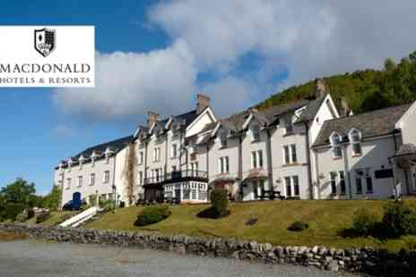 Macdonald Loch Rannoch Hotel - Choice of Afternoon Tea and Leisure Pass for Up to Four - Save 36%