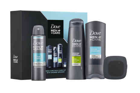 Avant Garde - Dove Men and Care gift set with shower speaker - Save 65%