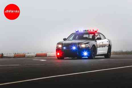 Drift Limits - 14 lap Police Dodge Charger experience - Save 50%
