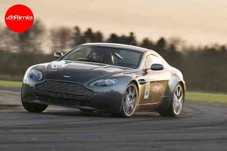 Drift Limits - 14 lap Aston Martin V8 Vantage supercar experience - Save 50%