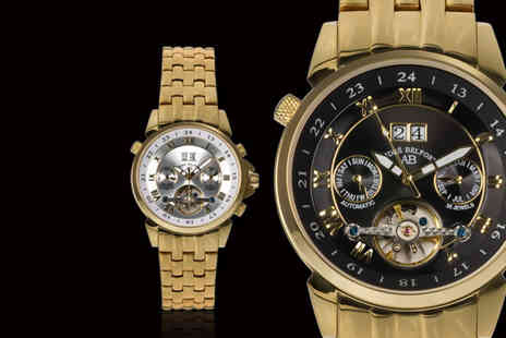Rotatio - Andre Belfort Etoile Polaire Gold Edition watch - Save 89%