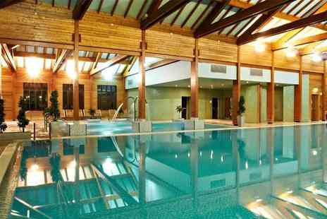 Bannatyne Spa - Deluxe spa package for two people with three treatments each, facility access, two ELEMIS products and a £10 voucher each - Save 74%