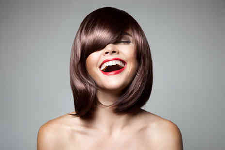 Eton Crop Hair - Half head of highlights with a cut and blowdry - Save 56%