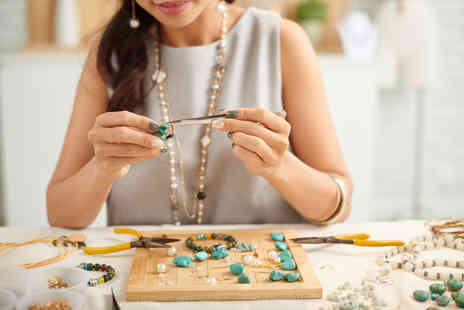 Midas Touch Crafts - Jewellery making workshop for one person - Save 74%