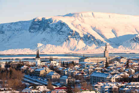 Travel Center - Two nights Reykjavik stay with return flights - Save 45%