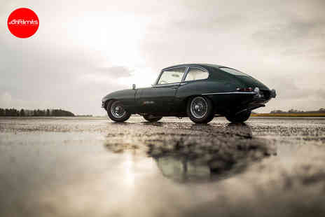 Drift Limits - 14 Lap Jaguar Series I E Type driving experience - Save 50%