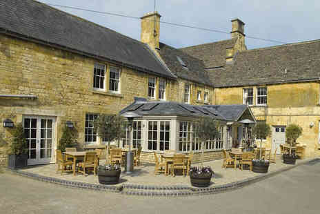 Noel Arms Hotel - Overnight Cotswolds stay for two people with two course dinner and breakfast - Save 0%
