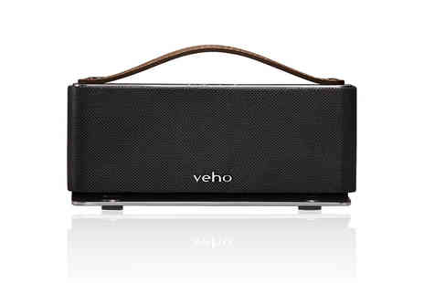 Wowcher Direct - Wireless Veho 360 retro Bluetooth speaker - Save 59%