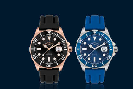 Rotatio - André Belfort automatic divers watch - Save 88%