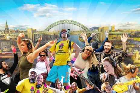 Silent Adventures - A Silent Disco Adventure in Newcastle - Save 0%