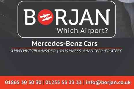 BORJAN - Airport Transfer from Heathrow to Oxford - Save 0%