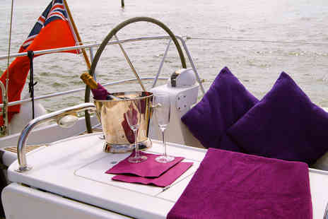 Escape Yachting - Yacht day, two course dining and a glass of champagne for one - Save 34%