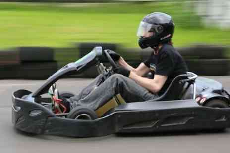 West Country Karting - 80 karting laps for one person - Save 80%