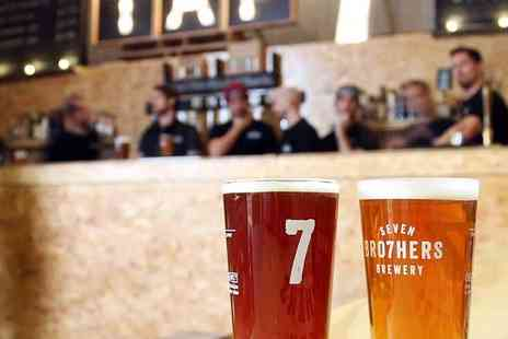 Seven Bro7hers - The 90 minute brewery tour with tasting for Two - Save 40%