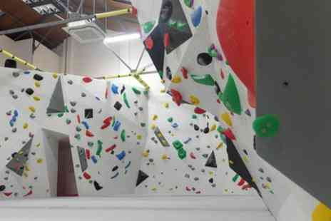 Romford Rock and Boulder - Indoor Climbing Day Pass for Up to Two Adults and One Child - Save 31%