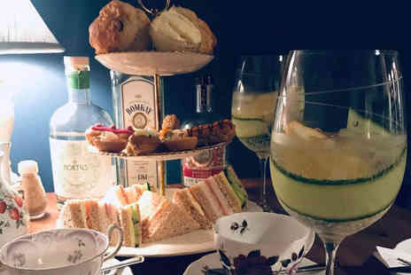 Lion Rock Tea Rooms - Gin & Tea afternoon tea for two - Save 52%