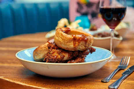 Yard & Coop - Sunday chicken lunch for two with a glass of Prosecco each - Save 51%