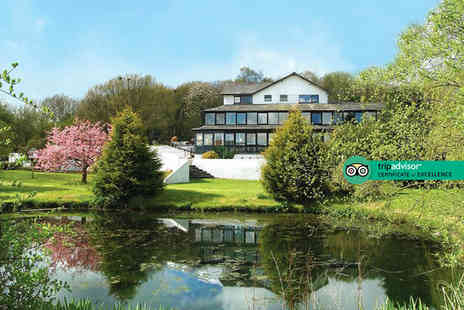 Damson Dene Hotel - Overnight Lake District getaway for two people with breakfast, dinner, leisure access and a Lake Windermere cruise - Save 22%