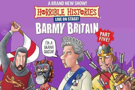 Encore Tickets - Horrible Histories Barmy Britain Part 5 at the Apollo Theatre - Save 25%