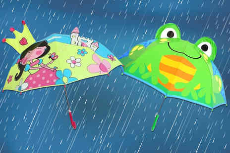 My Brand Logic - Childrens creative umbrella Choose your design - Save 65%