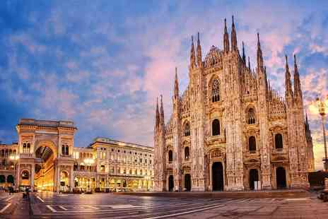 Travel Center - Escape with a two, three or four nights getaway to Milan Now with the ability to choose your flights - Save 25%