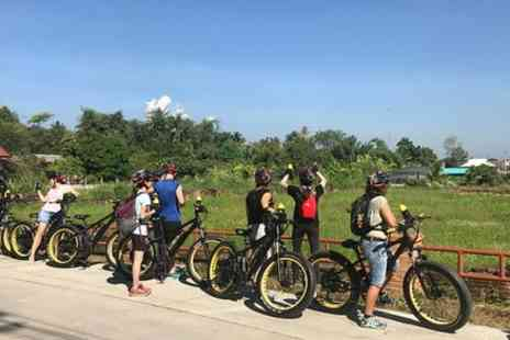 Buzzy Bee Bike Co - Half day Ping River and rice paddies E bike adventure - Save 0%