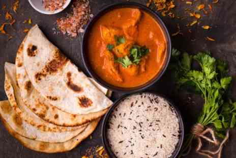 Indian Flame - Two Course Indian Meal with Rice or Naan for Two or Four - Save 58%