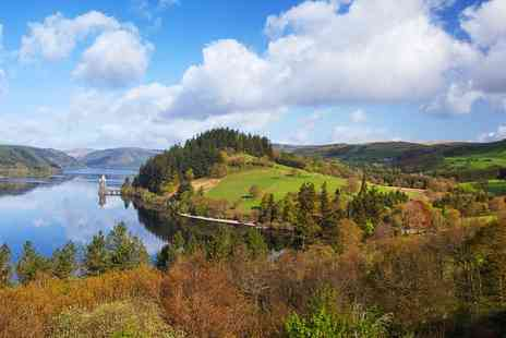 Lake Vyrnwy Hotel - Lakeside retreat with meals and bubbly - Save 31%