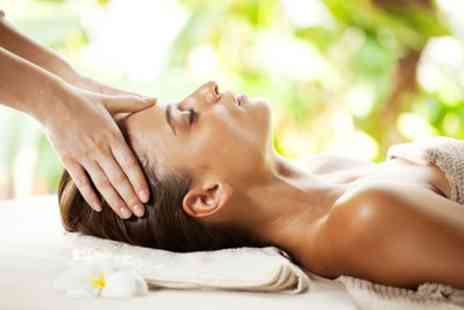 Zen by the sea - Indian Head, Neck and Shoulder Massage with Revitalise Facial - Save 53%