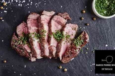 Marco Pierre White Steakhouse Bar & Grill Durham - 16oz Chateaubriand Steak Meal for Two - Save 48%