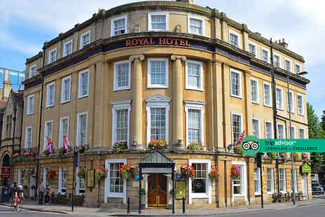The Royal Hotel - Overnight stay for two with breakfast, glass of champagne or Prosecco, three course dinner and cream tea - Save 30%