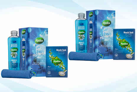 Avant Garde - Two Radox Feel Restored gift sets - Save 61%