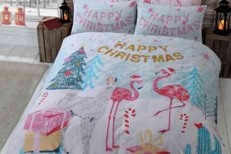 Groupon Goods Global GmbH - Pieridae Festive Clearance Duvet Set - Save 0%