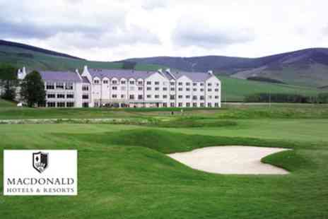 Macdonald Cardrona Hotel - Four Star Afternoon Tea with Leisure Pass for Two or Four - Save 35%