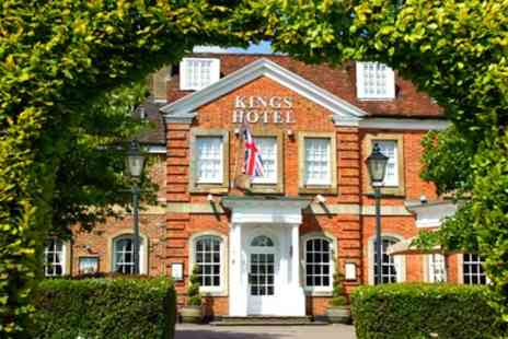 Kings Hotel High Wycombe - Double Room for 2 with Breakfast, Dinner, Bicester Village Discount and Optional Tea- Save 38%