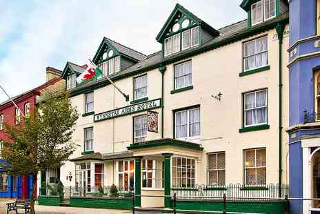 The Wynnstay Hotel - Mid Wales coaching inn stay with dinner - Save 52%