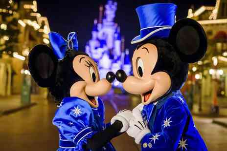 Weekender Breaks - Two nights Disneyland Paris holiday with a one day two park tickets and flights - Save 28%