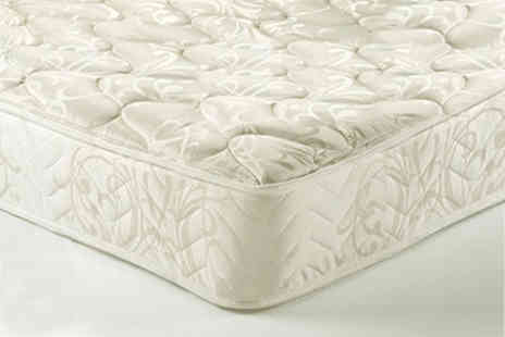 Dining Tables - Sleep Easy eight inch memory foam spring mattress Choose from six sizes - Save 90%